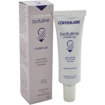 Botuline Make-Up Waterproof SPF 15 - # 2 by Covermark for Women - 1.01 oz Makeup