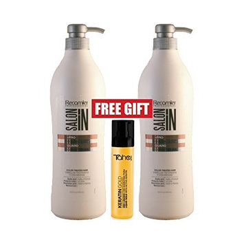 Saloon In Color Guard Conditioner 1000ml X2 + FREE TAHE KERATIN GOLD SERUM 30ml