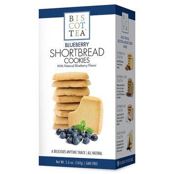 BISCOTTEA Blueberry Tea Shortbread Cookie (8 Cookies)