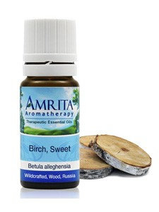 Birch Sweet Essential Oil 1/3 oz by Amrita Aromatherapy