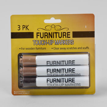 Good Old Values Furniture Light/Medium/Dark Touch-Up Wood Markers, Pack of 3