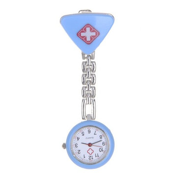 VANKER Cross Nurse Fob Clip On Brooch Hanging Pocket Watches Quartz Watch Fob Watch Battery Powered