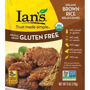 Ian's Natural Foods Organic Brown Rice Breadcrumbs 6 oz - Vegan