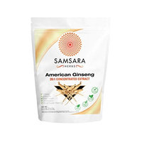 American Ginseng Extract Powder (8oz/227g) 20:1 Concentrated Extract - Energy, Stamina, Anti-Aging