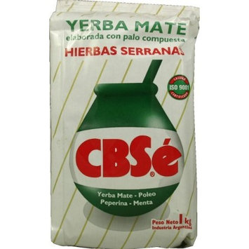 Yerba Mate CBSe Herbal Blend, 2.2 lbs, from Argentina