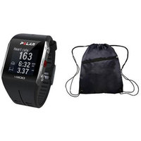 Polar - V800 GPS Sports Watch with Heart Rate Monitor and Bag- Black
