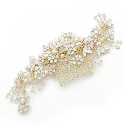 VANKOKO Bridal Side Hair Comb Headpiece Wedding Hair Accessories G