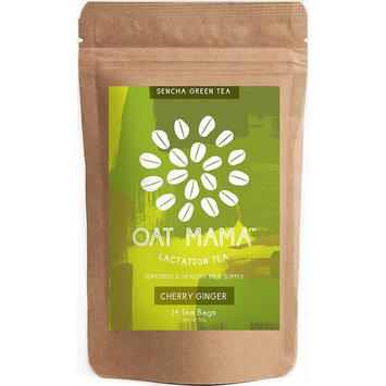 Lactation Tea by Oat Mama - Herbal Drink for Breastfeeding and Nursing Moms - Boost your Breast Milk Supply - With Organic Fenugreek Leaf -...