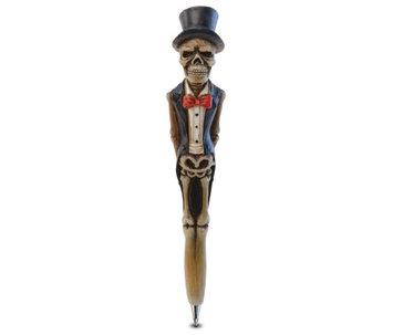 Puzzled Resin Pen Groom Skeleton