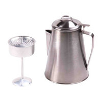 Ozark Trail Stainless Steel 8Cup Coffee Pot