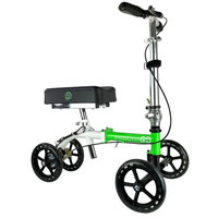 KneeRover GO Knee Walker - The Most Compact & Portable Knee Scooter Crutches Alternative