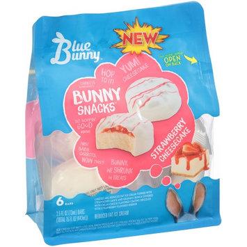 Blue Bunny™ Bunny Snacks™ Strawberry Cheesecake Ice Cream Bars 6-2.5 fl. oz. Bag