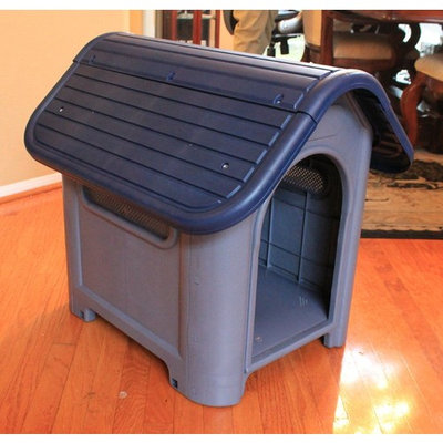 Outdoor Dog House Small to Medium Pet All Weather Doghouse Puppy Shelter NIB