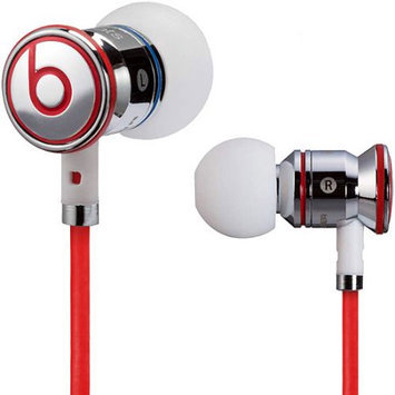 Monster Cable iBeats In-Ear Noise Isolation Headphones, with ControlTalk From Monster, Chrome
