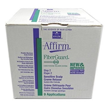 Avlon Affirm Fiber Guard Sensitive Scalp Relaxer Kit