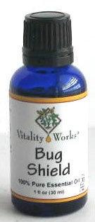 Bug Shield Essential Oil Vitality Works 1 oz Oil