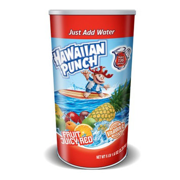 The Jel Sert Co. Hawaiian Punch Fruit Juicy Red Drink Mix, 6.3 lbs