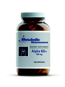 Alpha KG+ 180ct by Metabolic Maintenance