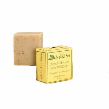 The Naked Bee Oatmeal Honey Bar Soap Triple Milled