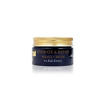 Admiral Male Grooming Hydrate & Repair Shaving Cream with Kale Extract, 1.7 Ounce