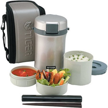 Jaybrake TIGER LUNCH BOX SET 2.0L INCL RICE CONTAINER SOUP