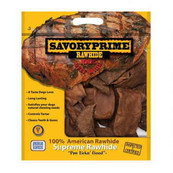 Savory Prime Pet Treats Savory Prime Rawhide Chips Beef 2