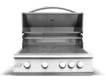 Rcs Gas Grills Premier Series Stainless Steel 32 Grill with Rear Burner - NG
