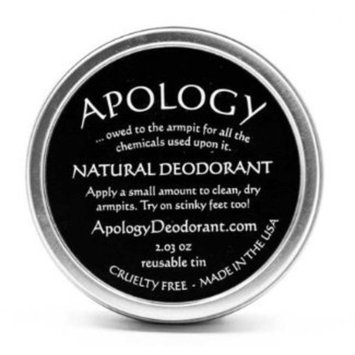Apology Natural Deodorant