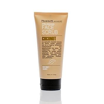 Pierre's Apothecary Polishing Face Scrub COCONUT with Sea Salt & Oranges 5.1 Oz