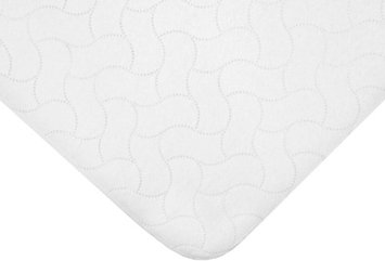 American Baby Company Waterproof Flat Multi Use Protective Pad Cover - White - 2 Pack