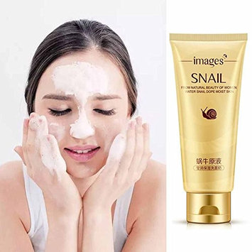 Facial Cleansing Gel, Snail Essence Face Deep Cleansing Moisturizing Replenishment Skin Care Multi Effects Extract,for All Kind of Skins