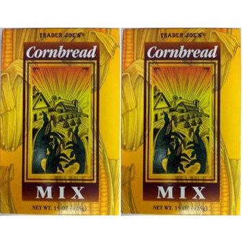 Trader Joe's Cornbread Mix (Pack of 2 - 15 oz boxes)