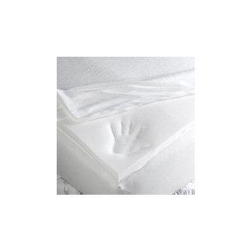 Memory Foam Crib Mattress Topper with Zippered Encasement - size 28x52