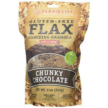 Flax4Life Gluten Free Flax Chunky Chocolate Snacking Granola 11 oz