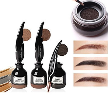 Sunvy Air Cushion Eyebrow Dye Cream Eyebrow Powder Eyebrows Seal Waterproof Mascara Long Lasting Eyebrow powder