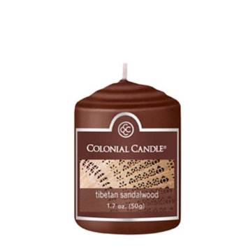 Classic Wax CC015.1866 Votive Tibetan Sandalwood Candles Pack of 18