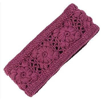Nirvanna Designs HB08 Crochet Multi Headband with Fleece