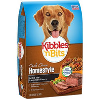 Kibbles 'n Bits Homestyle Grilled Beef and Vegetable Flavors Dry Dog Food, 45 lbs