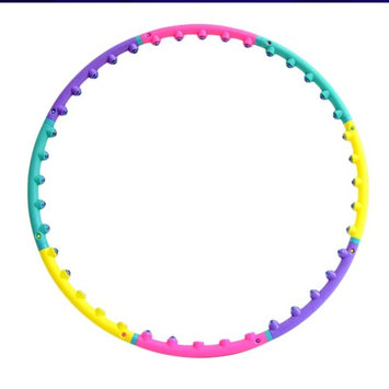 Hula Hoop Women Bodybuilding Exercise Massager Magnetic Therapy Massage Hoop