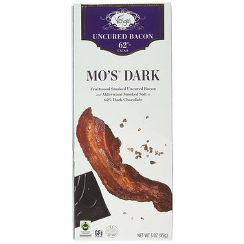Vosges Haut-Chocolat Mo's Dark Chocolate Bacon, Pack of 2, 3oz Bars [Mo's Dark Chocolate Bacon]