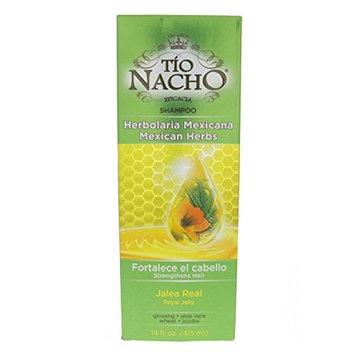 Tio Nacho Mexican Herbal Hair Strengthening Shampoo 415ml - Herbolaria Mexicana Champu