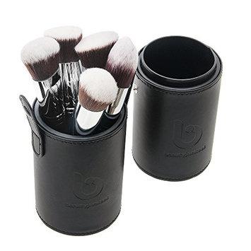 Foundation Makeup Brush Flat Kabuki - Best Large Face Brush for Stippling Liquid Cream Powder Make Up for Full Coverage Blending Cosmetic Applicator Soft Dense Synthetic Vegan Brochas de Maquillaje