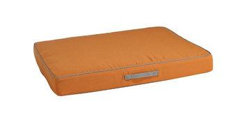Bowsers Pet Products Bowsers Sunbrella Rectangular Patio Pet Cushion Sunset, Size: Medium