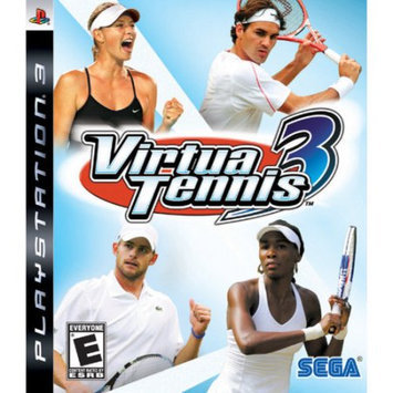 Sega VIRTUA TENNIS 3 - Sports Game - PlayStation 3