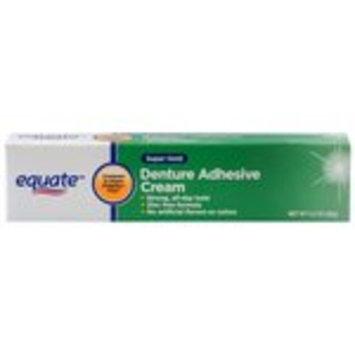 Equate Denture Adhesive Cream 2.4oz Compare to Fixodent