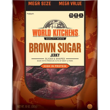 World Kitchens Brown Sugar Jerky, 10 oz