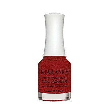 Kiara Sky Nail Lacquer, Sultry Desire, 15 Gram