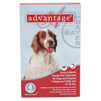 Bayer Topical Flea Treatment for Dogs [4 applications]