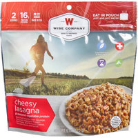 Wise Company Inc Wise Company Cheesy Lasagna & Textured Vegetable Protein Prepared Meal, 6 oz