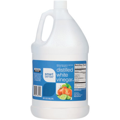 Smart Sense Vinegar, Distilled White, 128 fl oz (1gl) 3.78 lt